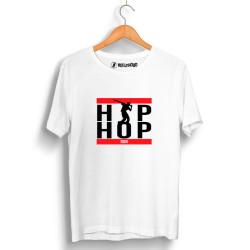 Groove Street - HollyHood - Grove Street Hiphop Run Beyaz T-shirt