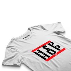 HH - Groove Street Hiphop Run Beyaz T-shirt - Thumbnail