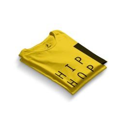 HH - Joker HipHop Jobz Sarı T-shirt - Thumbnail