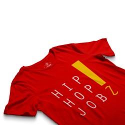 HH - Joker HipHop Jobz Kırmızı T-shirt - Thumbnail
