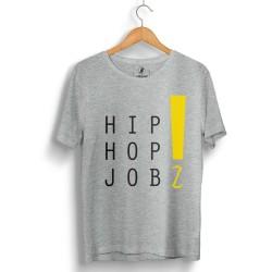 HH - Joker HipHop Jobz Gri T-shirt - Thumbnail