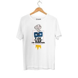 Allame - HH - Allame Oldschool Beyaz T-shirt