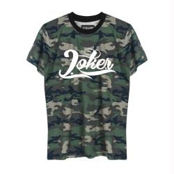 Joker - HH - Joker Logo Kamuflaj T-shirt