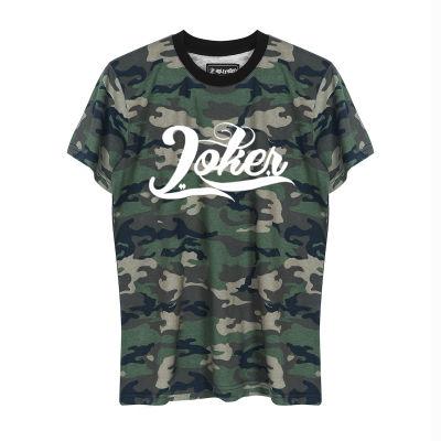 HH - Joker Logo Kamuflaj T-shirt