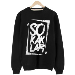 Anıl Piyancı - HH - Anıl Piyancı Sokaklar Siyah Sweatshirt