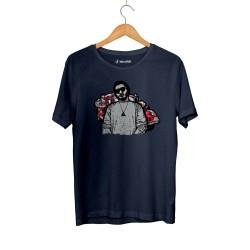 Aspova - HH - Aspova Portre Lacivert T-shirt