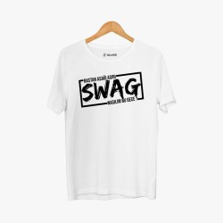 Cegıd - Hollyhood - Cegıd Swag Beyaz T-shirt
