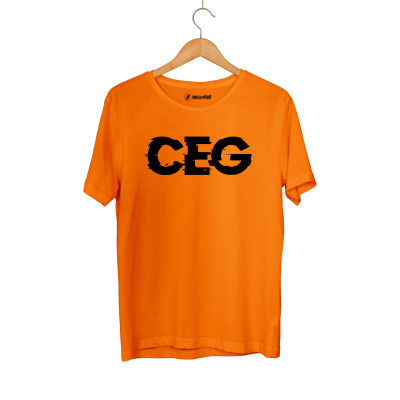HollyHood - Cegıd Ceg Turuncu T-shirt