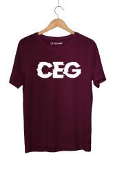 Ceg - HollyHood - Cegıd Ceg Bordo T-shirt