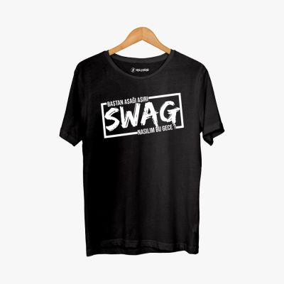 Hollyhood - Cegıd Swag Siyah T-shirt