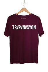 Ceg - HollyHood - Cegıd Trapanasyon Bordo T-shirt