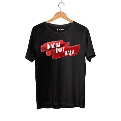 Contra - HH - Contra İnadım İnat Hala Siyah T-shirt