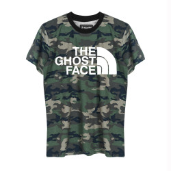 HH - The Ghost Face Kamuflaj T-shirt - Thumbnail