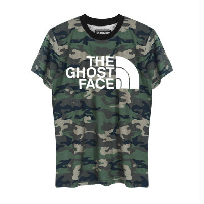HH - The Ghost Face Kamuflaj T-shirt