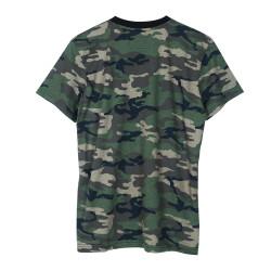 HH - Ezhel Tipografi Kamuflaj T-shirt - Thumbnail