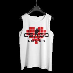 Gamer - HollyHood - CS:GO Kırmızı Lover Beyaz Atlet