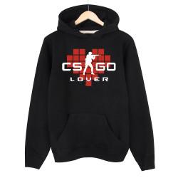 HollyHood - HollyHood - CS:GO Kırmızı Lover Siyah Hoodie