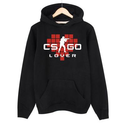 HH - CS:GO Kırmızı Lover Siyah Hoodie