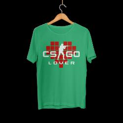 HollyHood - HollyHood - CS:GO Kırmızı Lover Yeşil T-shirt