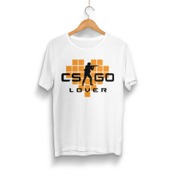 HollyHood - HollyHood - CS:GO Turuncu Lover Beyaz T-shirt