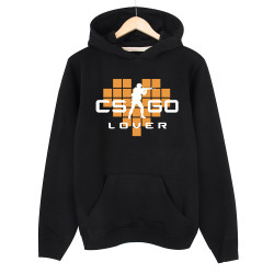 HollyHood - HollyHood - CS:GO Turuncu Lover Siyah Hoodie