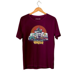 DJ Artz - HH - DJ Artz Pavyon Bordo T-shirt