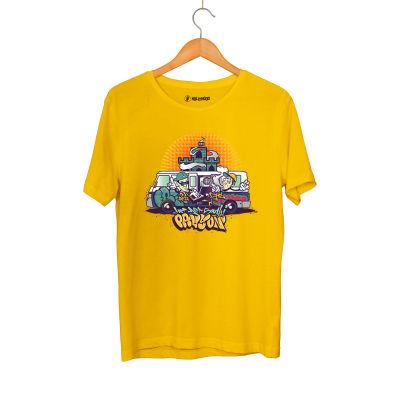 HH - DJ Artz Pavyon Sarı T-shirt