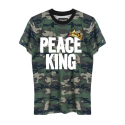 HH - Peace King Kamuflaj T-shirt - Thumbnail