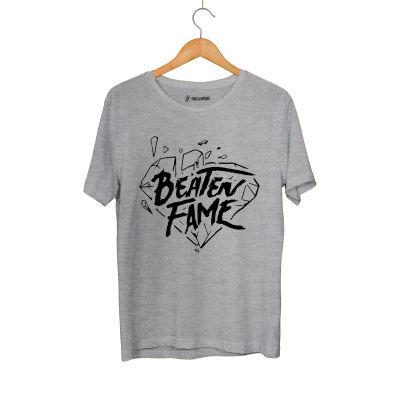 HH - Elçin Orçun Beaten Fame Diamond Gri T-shirt