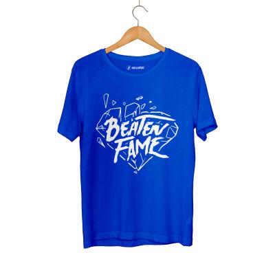 HH - Elçin Orçun Beaten Fame Diamond Mavi T-shirt