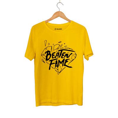 HH - Elçin Orçun Beaten Fame Diamond Sarı T-shirt