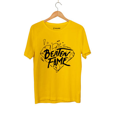 E.O. Beatenfame - HH - Elçin Orçun Beaten Fame Diamond Sarı T-shirt
