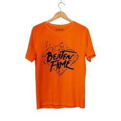 E.O. Beatenfame - HH - Elçin Orçun Beaten Fame Diamond Turuncu T-shirt