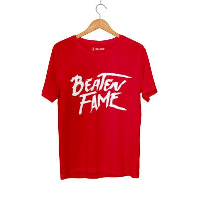 HH - Elçin Orçun Beaten Fame Text Kırmızı T-shirt