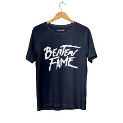 Beatenfame - HH - Elçin Orçun Beaten Fame Text Lacivert T-shirt