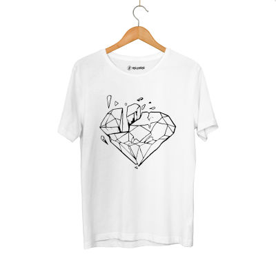 HH - Elçin Orçun Diamond Beyaz T-shirt