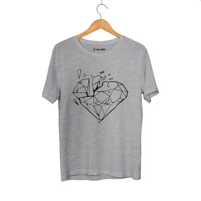 E.O. Beatenfame - HH - Elçin Orçun Diamond Gri T-shirt