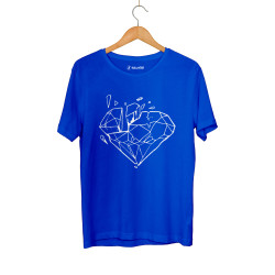 Beatenfame - HH - Elçin Orçun Diamond Mavi T-shirt