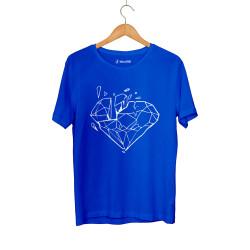 E.O. Beatenfame - HH - Elçin Orçun Diamond Mavi T-shirt
