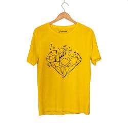 Beatenfame - HH - Elçin Orçun Diamond Sarı T-shirt