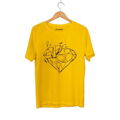HH - Elçin Orçun Diamond Sarı T-shirt