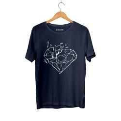 E.O. Beatenfame - HH - Elçin Orçun Diamond Lacivert T-shirt
