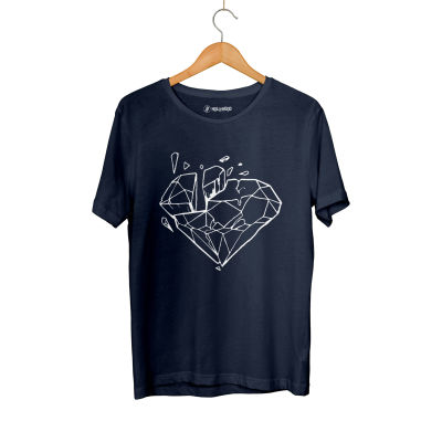 HH - Elçin Orçun Diamond Lacivert T-shirt