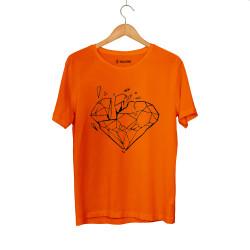 E.O. Beatenfame - HH - Elçin Orçun Diamond Turuncu T-shirt