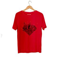 E.O. Beatenfame - HH - Elçin Orçun Red Diamond Kırmızı T-shirt
