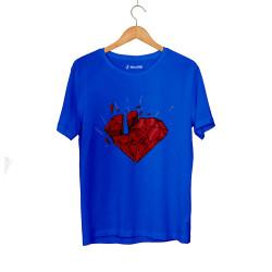 E.O. Beatenfame - HH - Elçin Orçun Red Diamond Mavi T-shirt