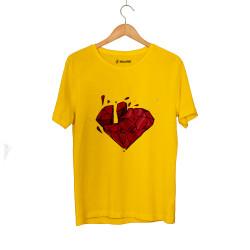 Beatenfame - HH - Elçin Orçun Red Diamond Sarı T-shirt