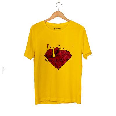 HH - Elçin Orçun Red Diamond Sarı T-shirt