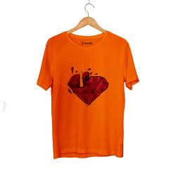 E.O. Beatenfame - HH - Elçin Orçun Red Diamond Turuncu T-shirt