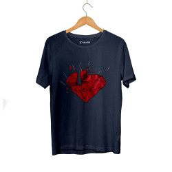 E.O. Beatenfame - HH - Elçin Orçun Red Diamond Lacivert T-shirt